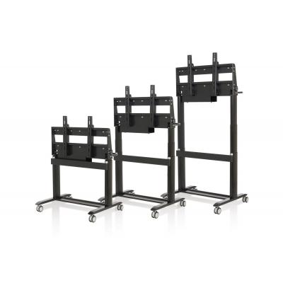 Philips TV standaard: Electrical adjustable stand/lift, Zwart