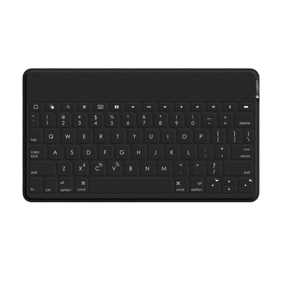 Logitech Keys-To-Go - AZERTY Mobile device keyboard - Zwart