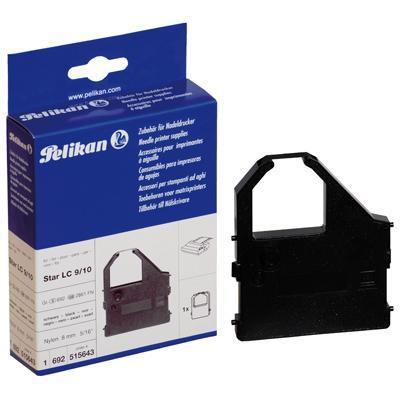 Pelikan printerlint: Nylon Ribbon Black for Star Micronics - Zwart