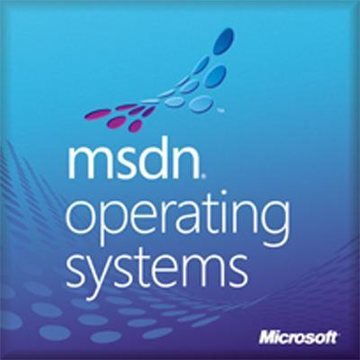 Microsoft software: MSDN Operating Systems 2010, RTL, 1u, 1Y, DVD, EN