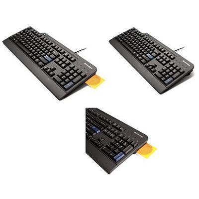 Lenovo USB Smartcard Toetsenbord - Zwart