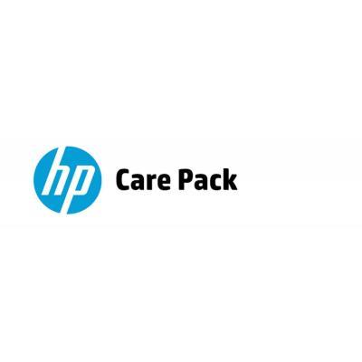 Hp garantie: 3 jaar haal- en brengservice bij defect - Alleen geldig bij een notebook