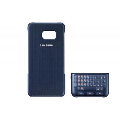 Samsung mobile device keyboard: Keyboard Cover for Galaxy S6 edge+, Black - Zwart