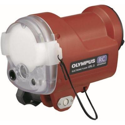 Olympus camera flitser: UFL-3 - Rood