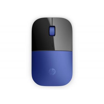 Hp computermuis: Z3700 - Zwart, Blauw