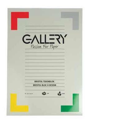 Gallery tekenpapier: TEKENBLOK ZWART 21X29,7CM 20BL