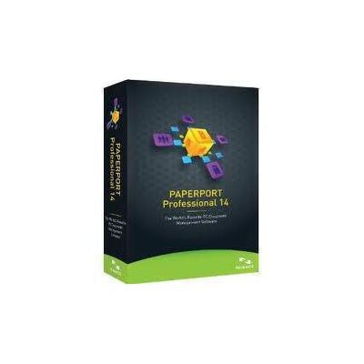 Nuance OCR software: OmniPage PaperPort Professional 14, GOV, FR