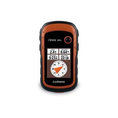 Garmin navigatie: eTrex 20x - Zwart, Oranje