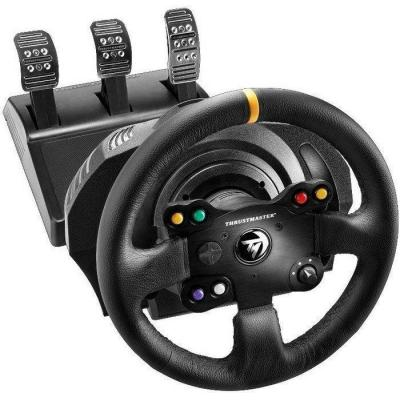 Thrustmaster game controller: 900°, 3 pedals, Xbox One/PC, Windows XP/Vista/7/8/10, Black - Zwart