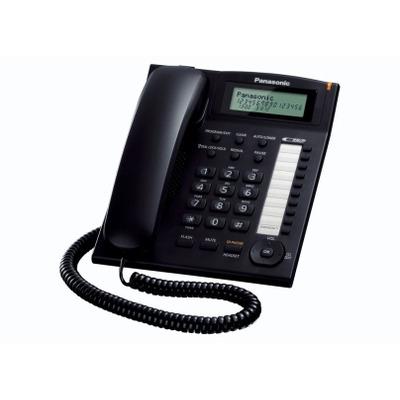Panasonic dect telefoon: KX-TS880EXB - Zwart