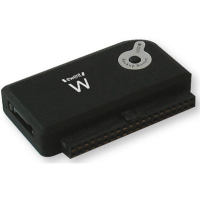 Ewent USB 3.1 Gen1 (USB 3.0) naar IDE / SATA Converter - rev1 interfaceadapter - Zwart