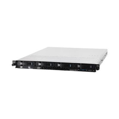 Asus server barebone: RS300-E8-RS4 - Zwart, Zilver