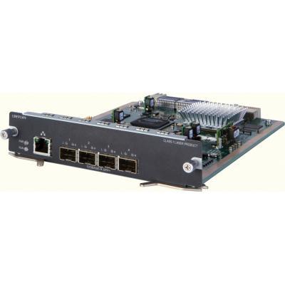 Hp netwerkkaart: 5820 4-port 8/4/2 Gbps FCoE SFP+ Module