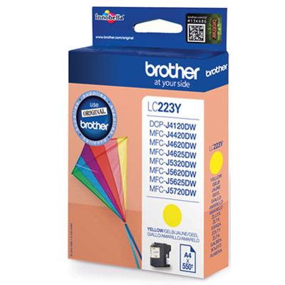 Brother LC-223YBP inktcartridge