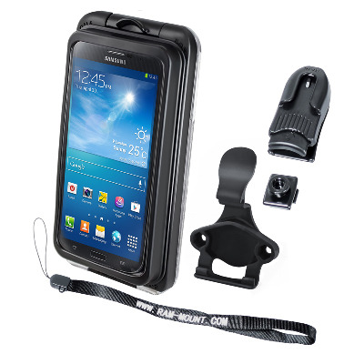 RAM Mounts RAM-HOL-AQ7-2CU Mobile phone case - Zwart, Transparant