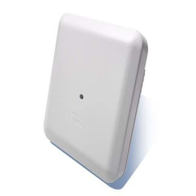 Cisco access point: 2802I Indoor Dual-Band 2xGbE Access Point 802.11ac - Wit