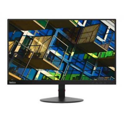 Lenovo monitor: ThinkVision S22e-19 - Zwart