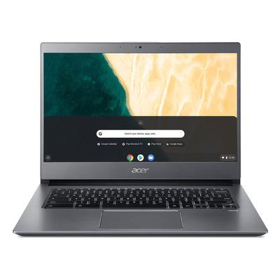 "Acer Chromebook 714 CB714-1WT-3827 14"" Touch i3 8GB RAM 64GB eMMC - QWERTY Laptop - Grijs"