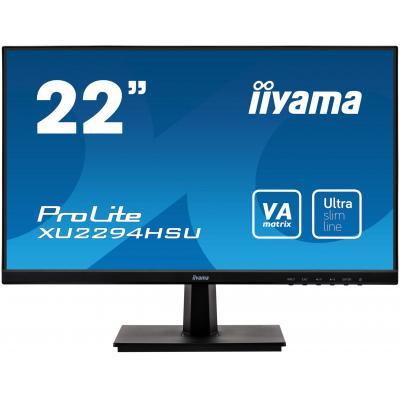 """Iiyama ProLite XU2294HSU-B1 21,5"""" Full HD VA - Desktop Monitor - Zwart"""
