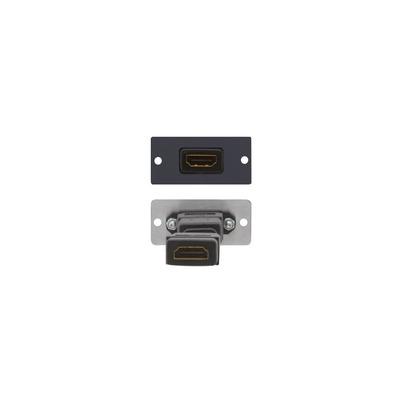 Kramer Electronics HDMI Wall Plate Insert, black - Zwart