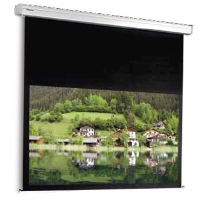 Projecta projectiescherm: Cinema Electrol 154 x 240 cm - Zwart, Wit