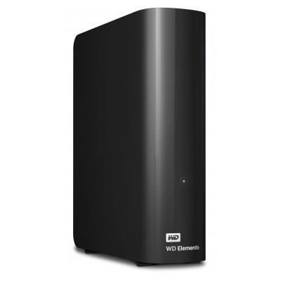 Western digital externe harde schijf: WD Elements Desktop 3.5 Inch Externe HDD, 2TB - Zwart