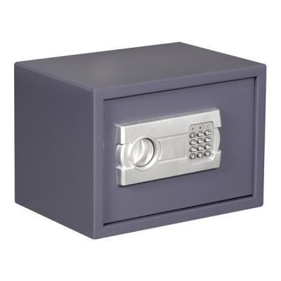 Toolland kluis: Elektronische kluis, 25 x 35 x 25 cm - Grijs