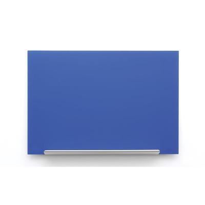 Nobo whiteboard: Diamond Glasbord (677x381) blauw, magnetisch