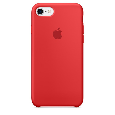 Apple mobile phone case: Siliconenhoesje voor iPhone 7 - (PRODUCT)RED - Rood