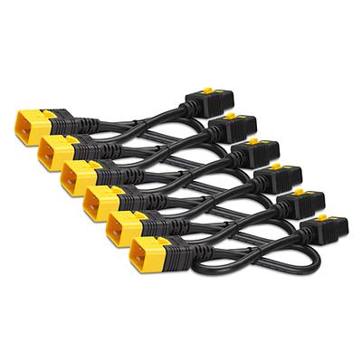 APC Power Cord Kit (6 ea), Locking, C19 to C20, 1.2m Electriciteitssnoer