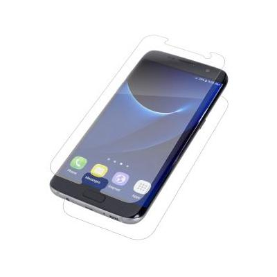 Invisible shield screen protector: InvisibleShield Original for the Samsung Galaxy S7 edge - Transparant