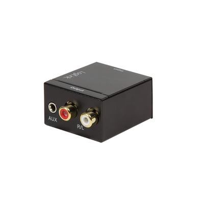 LogiLink CA0101 Audio converter - Zwart