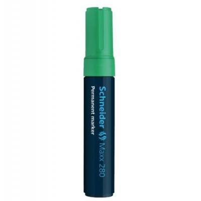 Schneider Pen Maxx 280 Marker - Zwart, Groen