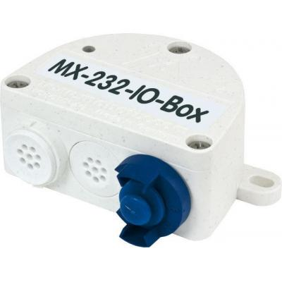 Mobotix electrical box: MX-232-IO-Box - Wit
