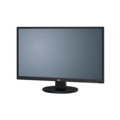 Fujitsu monitor: Displays all-round display: 68.6 cm (27-inch) widescreen - Zwart