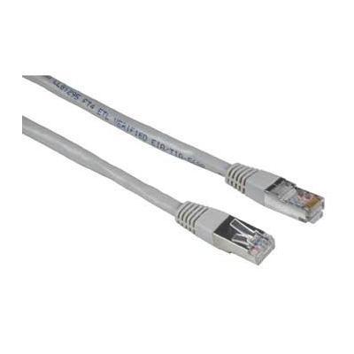 Hama netwerkkabel: Patch cable, Cat5e, Stp, 15m - Grijs