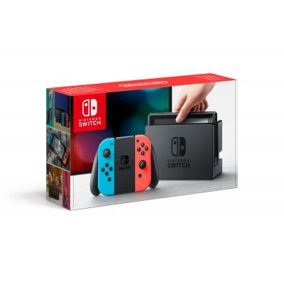 Nintendo spelcomputer: Switch Console (Blauw / Rood)