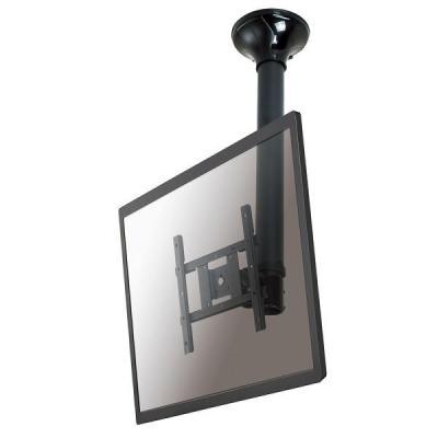 "Newstar flat panel plafond steun: De FPMA-C200BLACK is een plafondsteun voor flat screens t/m 40"" (102 cm). - Zwart"