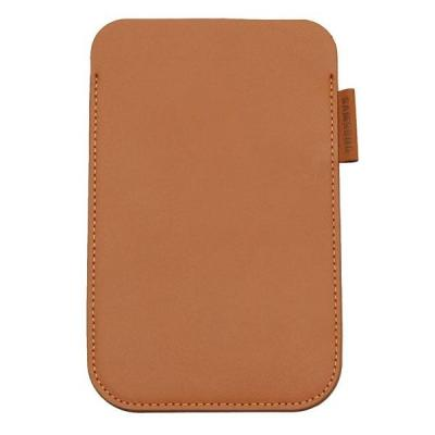 Samsung tablet case: EF-C1A2PCEC - Leather, Brown - Bruin