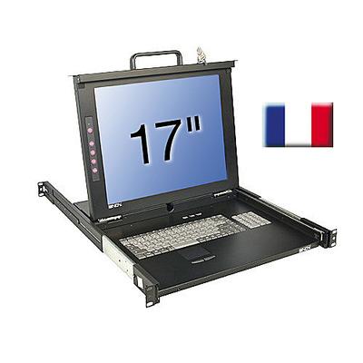 Lindy 21608 Rack console - Zwart