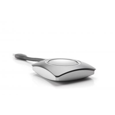 Barco : ClickShare Button - Grijs, Wit