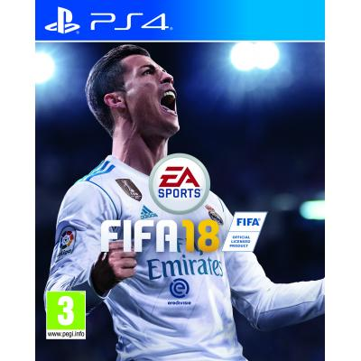 Electronic arts game: FIFA 18  PS4