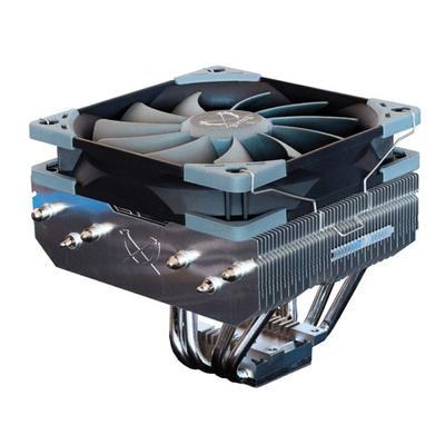 Scythe Choten Hardware koeling - Zwart, Nikkel