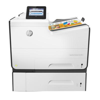 HP PageWide Enterprise Color 556xh Inkjet printer - Zwart, Cyaan, Magenta, Geel