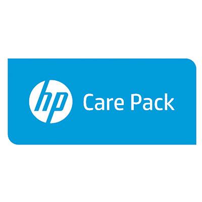 Hewlett Packard Enterprise U6Y43E aanvullende garantie