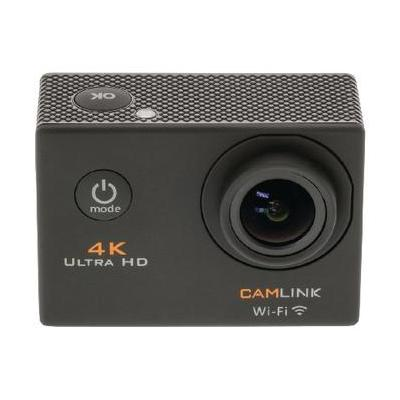 Camlink actiesport camera: 4K Ultra HD Action Camera Wi-Fi Black - Zwart
