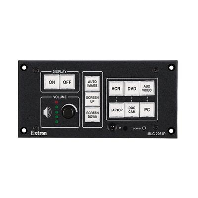Extron MLC 226 IP L Afstandsbediening - Zwart