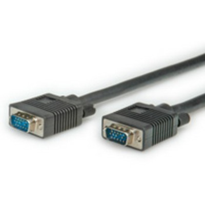 ROLINE 20m VGA VGA kabel  - Zwart