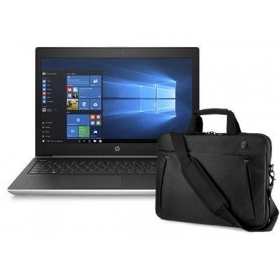 """HP laptop: ProBook 430 G5 13.3"""" i3 128GB + GRATIS zwarte tas - Zilver"""
