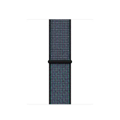 Apple 40mm Hyper Grape Nike Sport Loop horloge-band - Multi kleuren